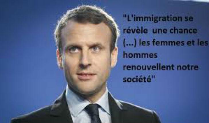 Macron veut accélérer l'immigration algérienne et ...