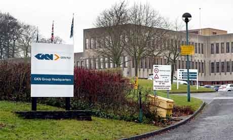 The GKN headquarters in Redditch, Worcestershire.