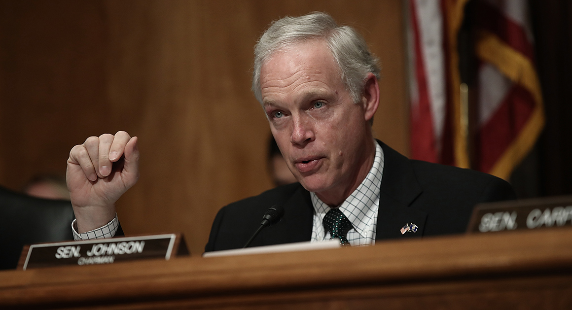 Sen. Ron Johnson: Ideology, not gun, killed 49 people in ...