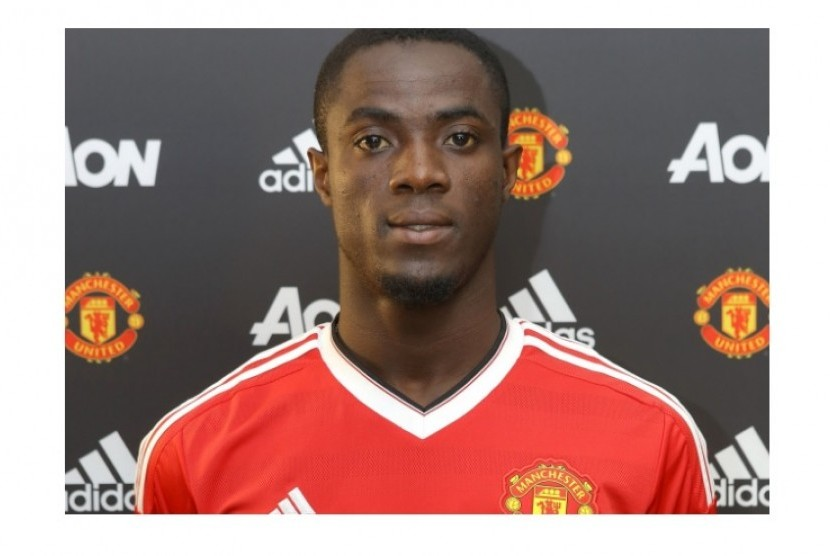 Den 24-år gammal, 187 cm lång Eric Bailly in 2018 photo