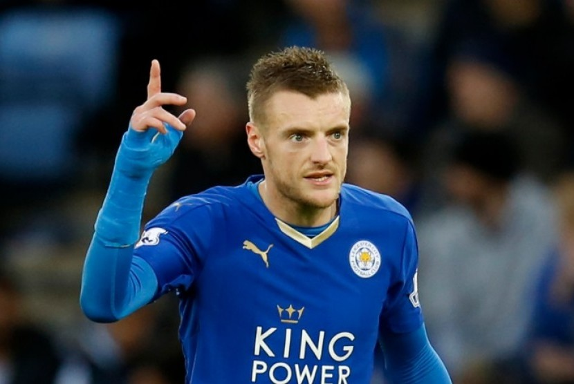 The 31-year old son of father (?) and mother(?), 178 cm tall Jamie Vardy in 2018 photo