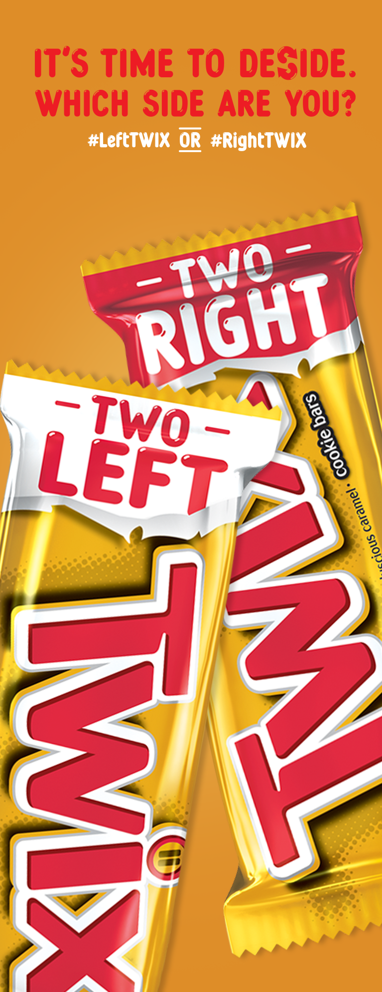TWIX - #LeftTWIX or #RightTWIX? Try both and pick a side...