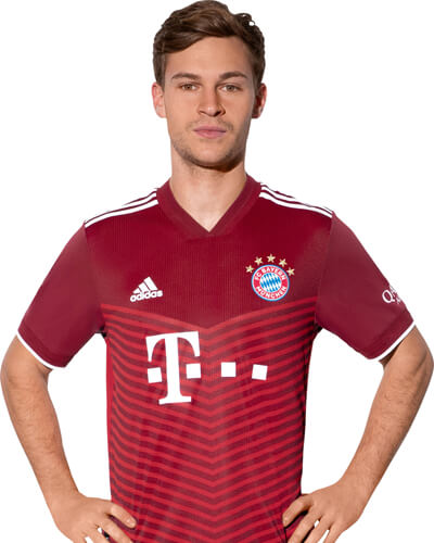 The 22-year old son of father (?) and mother(?), 176 cm tall Joshua Kimmich in 2017 photo