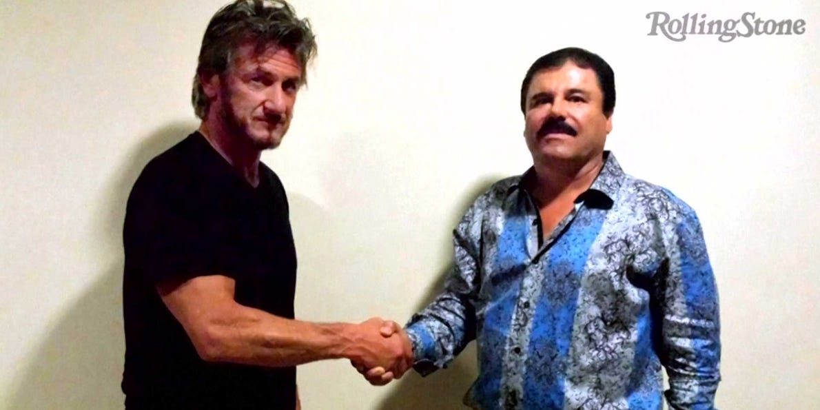 El Chapo's Sean Penn interview - Business Insider