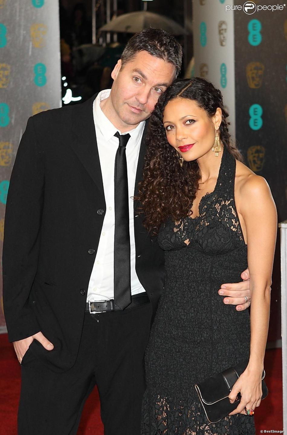 Thandie Newton with Husband Ol Parker