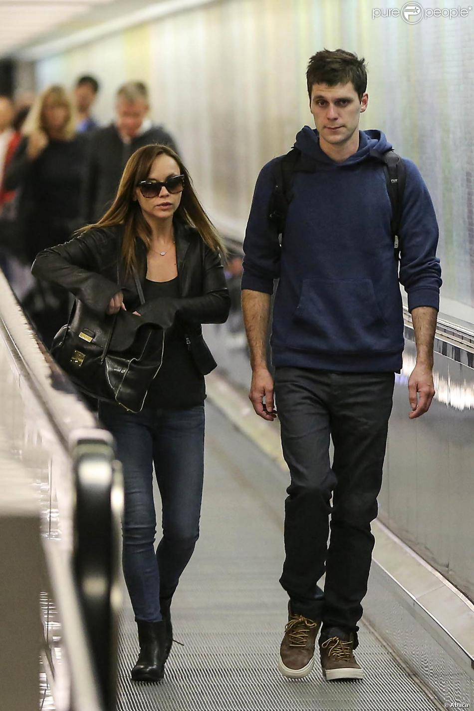 Christina Ricci with Husband James Heerdegen