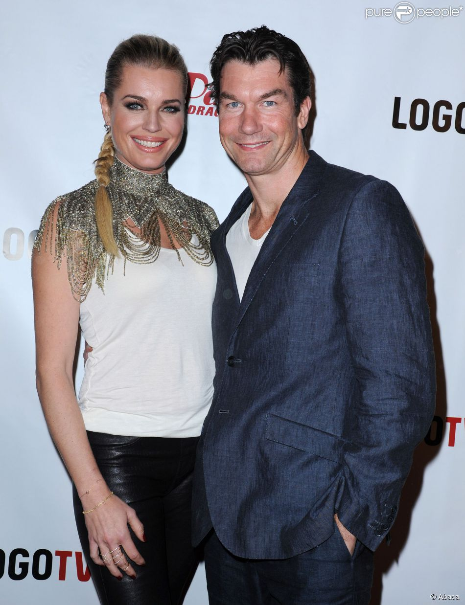 Rebecca Romijn with Husband Jerry O