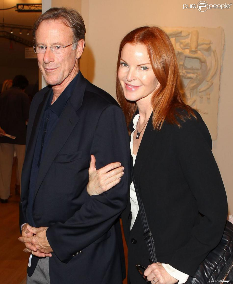 Marcia Cross with Man Tom Mahoney