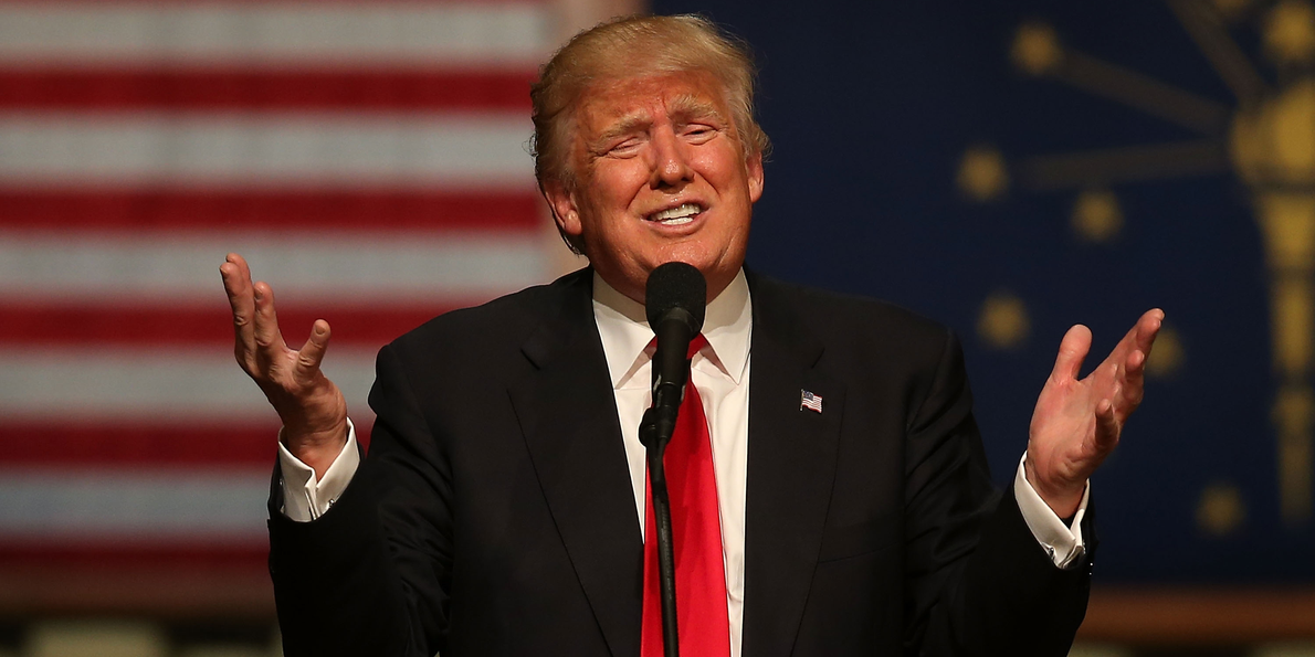 Poll: Trump starts general election down big to Hillary - Business ...