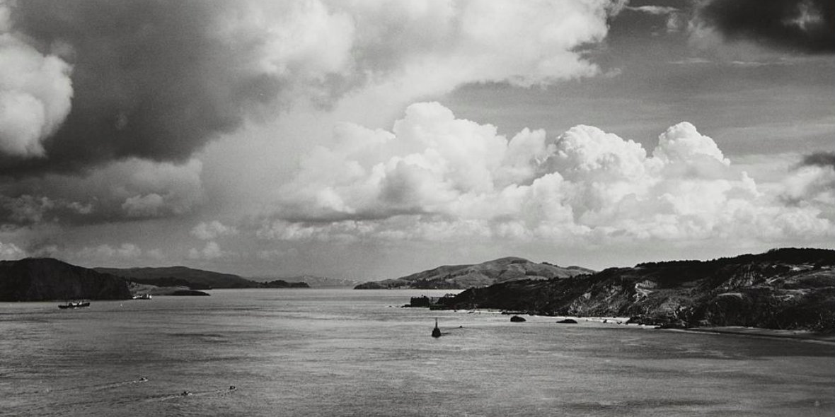 Ansel Adams, Golden Gate Before the Bridge (1932)