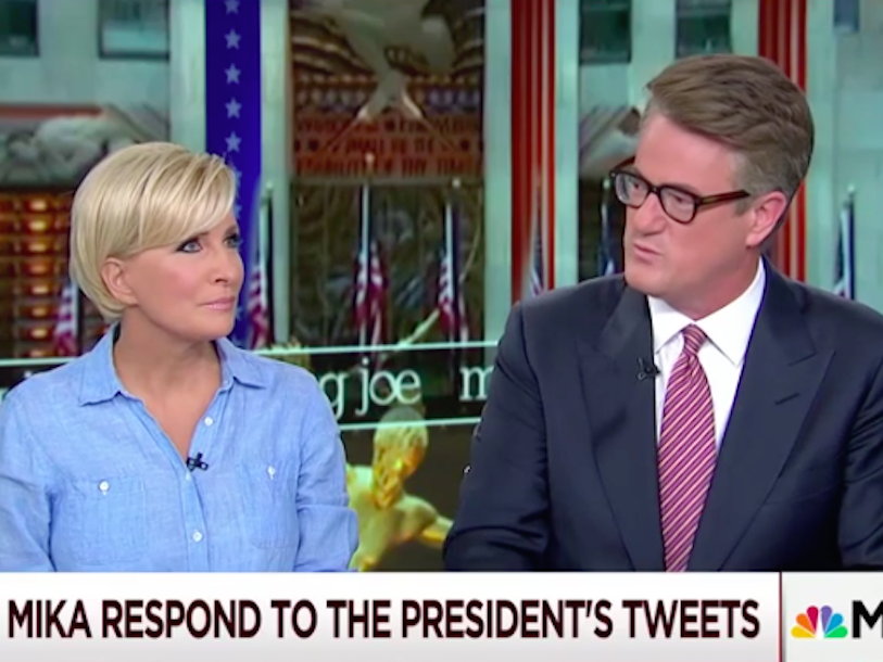 Joe Scarborough: Trump went on Mika Brzezinski blood rant - Business Insider