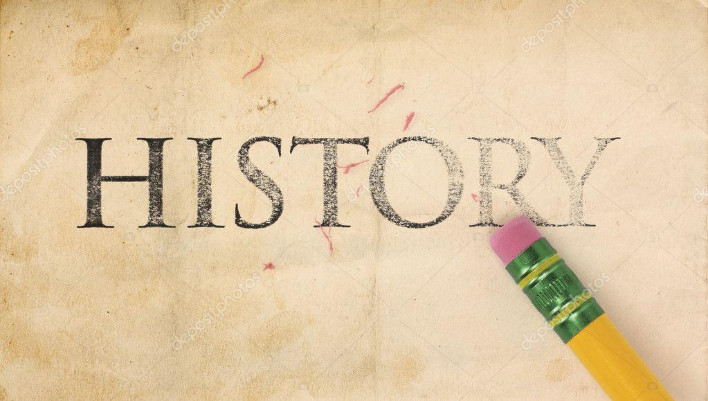 Erasing History — Stock Photo © mcarrel #4681227