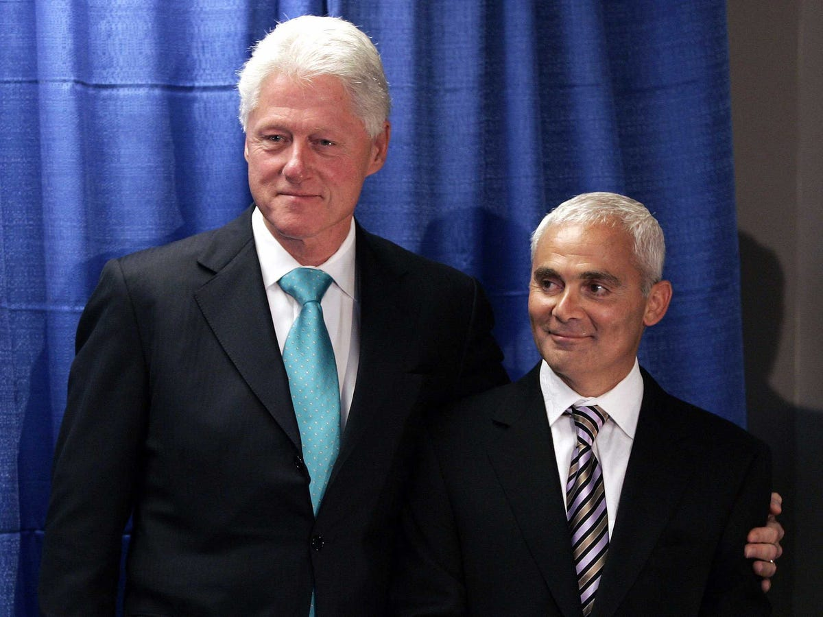 Frank Giustra's amazing comment about Bill Clinton ...