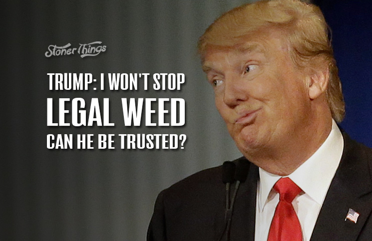 Trump: I Won't Stop Legal Marijuana. Can He Be Trusted ...