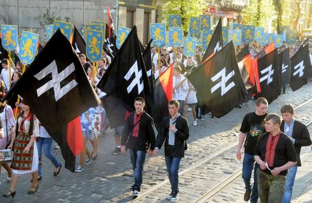 The Situation in the Ukraine. #11 - Page 7 ?u=http%3A%2F%2Fstopobamanowsd.files.wordpress.com%2F2014%2F02%2Fukrainiansdisplaynazisymbol