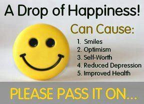 Please share..A Drop of Happiness for a Healthy Life ...