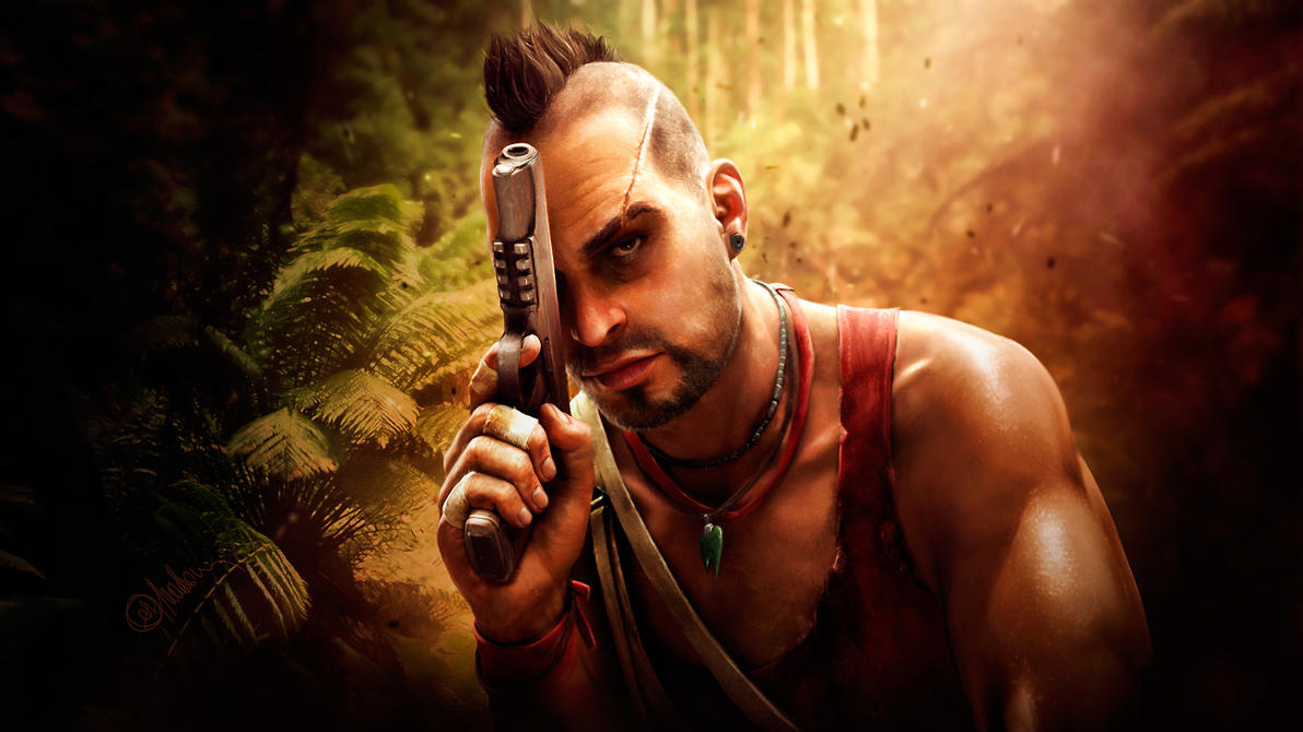 Far cry 3. Vaas Montenegro. Hunter by push-pulse on DeviantArt
