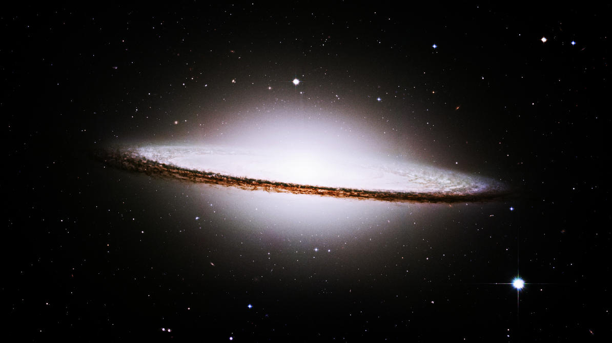 Sombrero Galaxy by ansercw