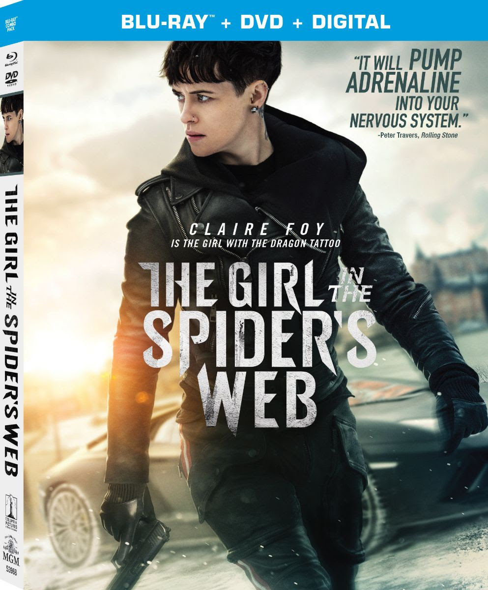 The Girl in the Spider's Web Gets Digital, Blu-ray & DVD ...