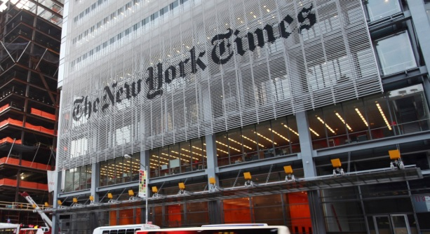 NYT Writer Describes 'Civil War' Raging Within Company, Says One Side Believes In 'Safetyism' Over 'Free Speech'…
