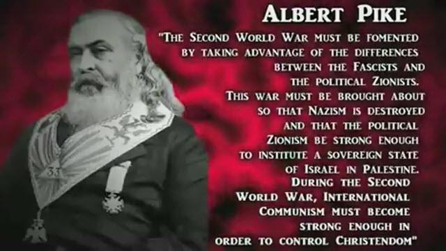 Albert Pike And The Three World Wars – The Millennium Report