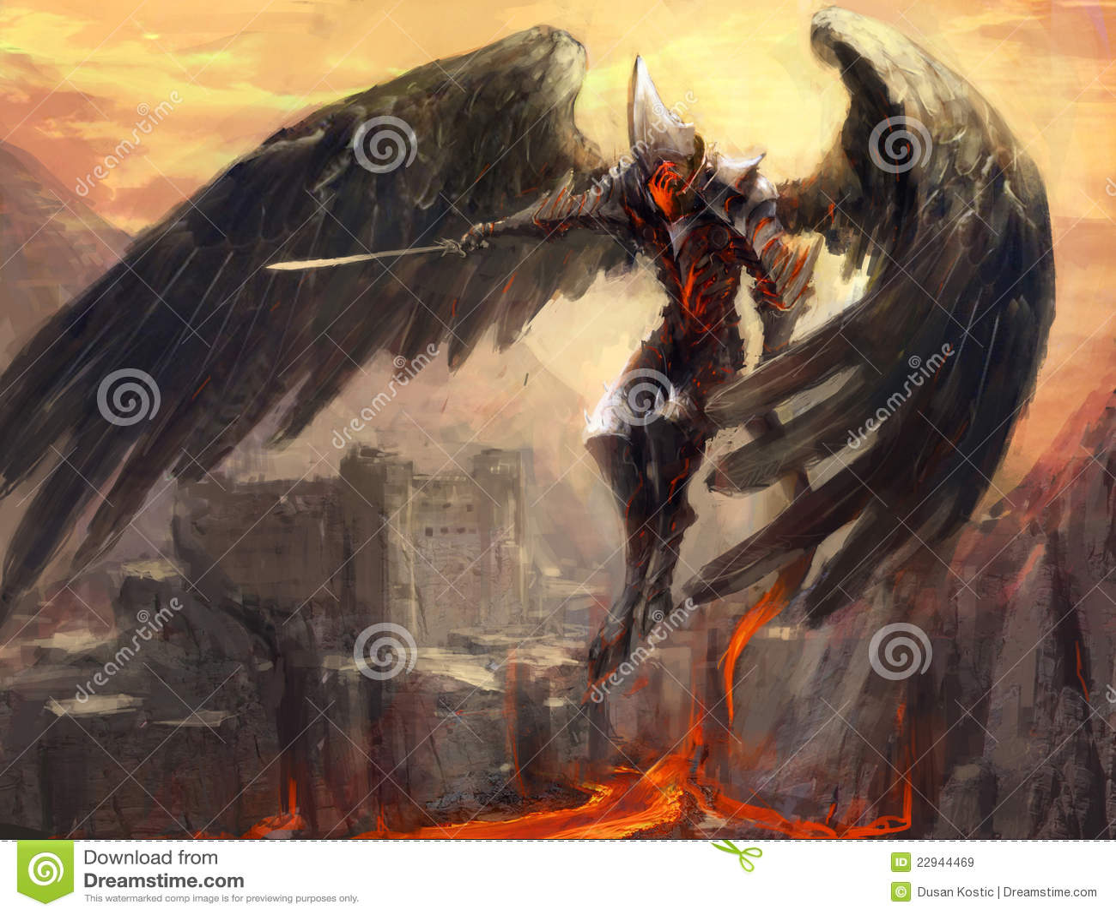 Armageddon Royalty Free Stock Images - Image: 22944469