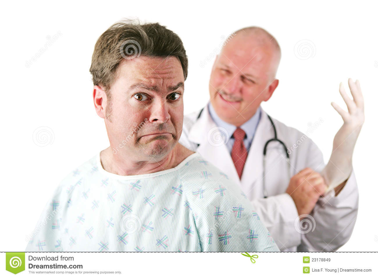 Nervous Medical Patient Royalty Free Stock Images - Image ...