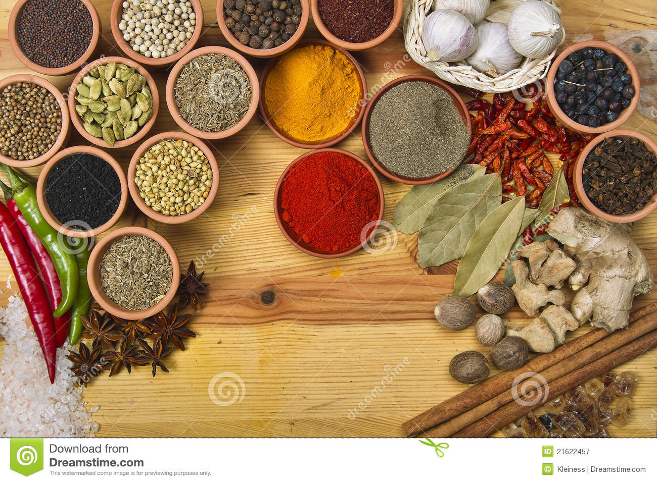 Spices And Herbs Royalty Free Stock Photography - Image ...