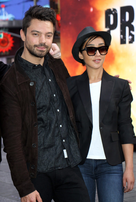 Ruth Negga with Boyfriend