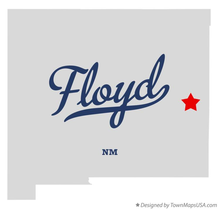 Map of Floyd, NM, New Mexico