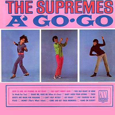 Album Cover Art - The Supremes A' Go-Go