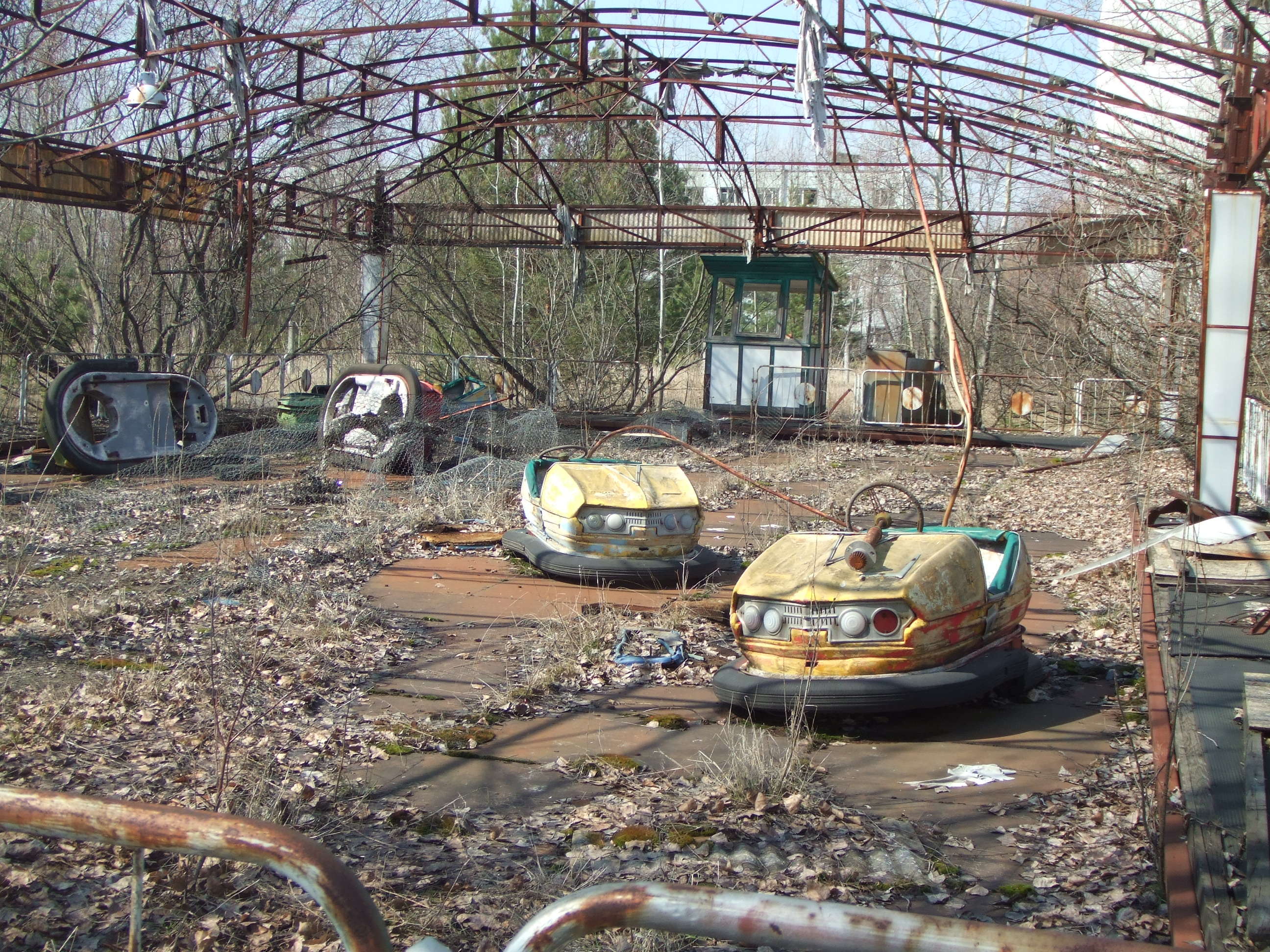 Description Pripyat - Bumper cars.jpg