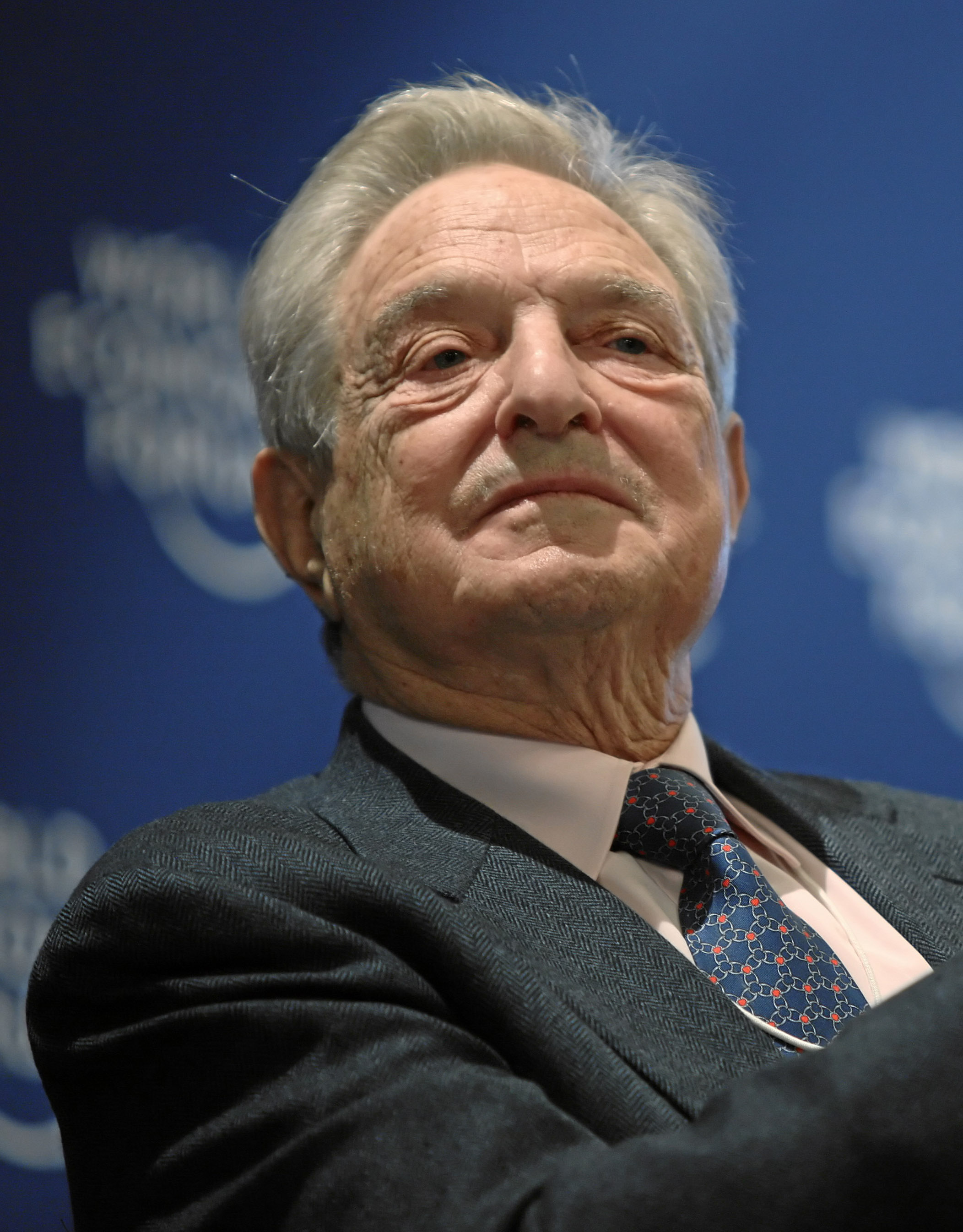Description George Soros - World Economic Forum Annual Meeting Davos ...