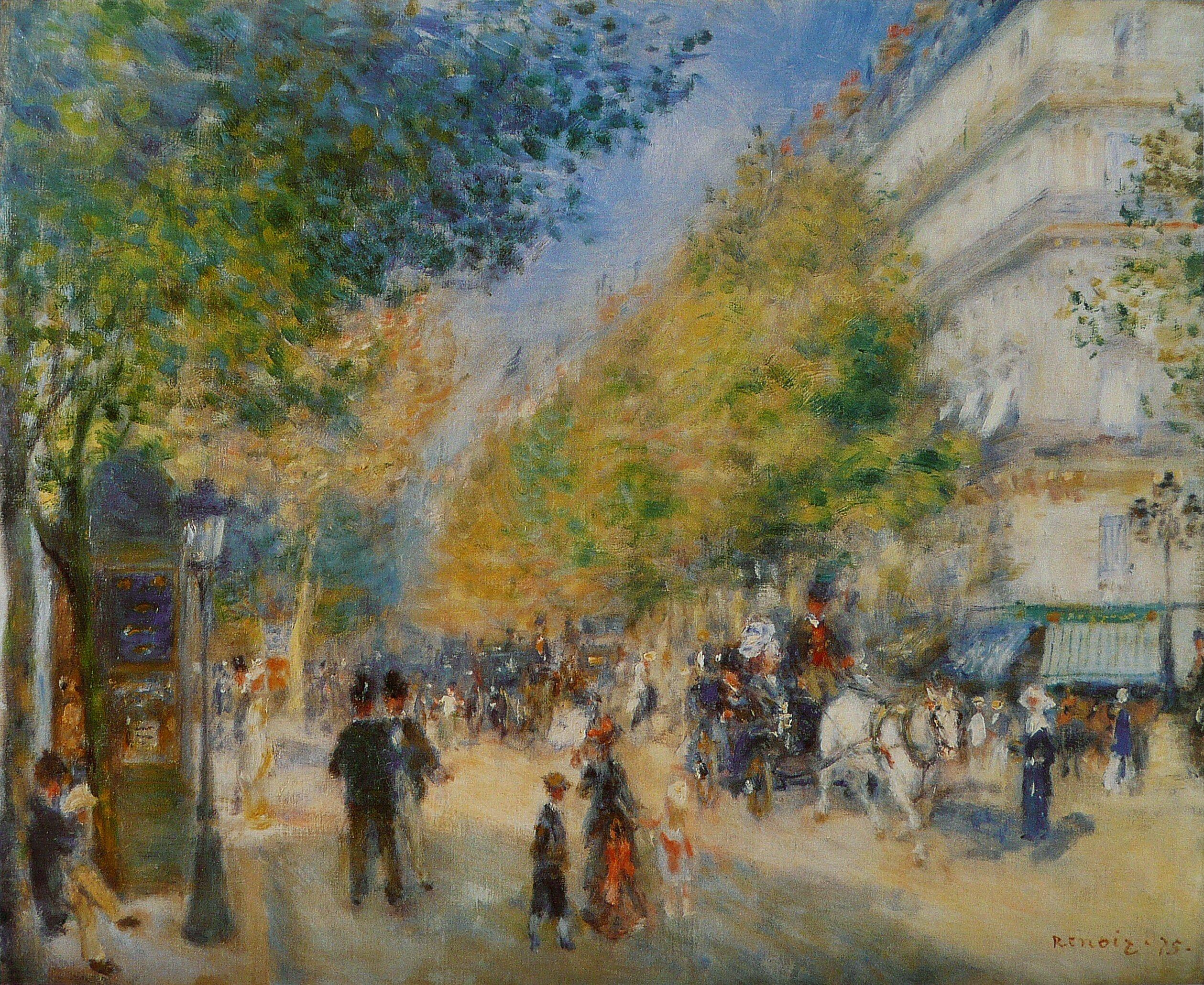 File:Pierre-Auguste Renoir - Les Grands Boulevards.jpg ...