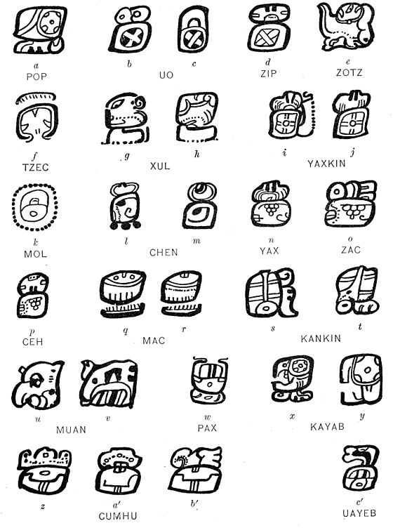 An Introduction to the Study of the Maya Hieroglyphs ...