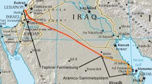 Trans-Arabian Pipeline - Wikipedia, the free encyclopedia