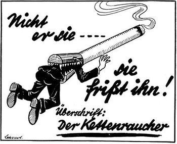 Feuerkraft ǀ Rauchen gegen Hitler — der Freitag