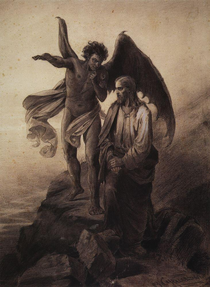 The Temptation Of Christ Temptation of christ - vasily