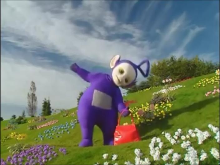 Tinky-Winky's Heavy Bag | Films, TV Shows and Wildlife Wiki | FANDOM powered by Wikia