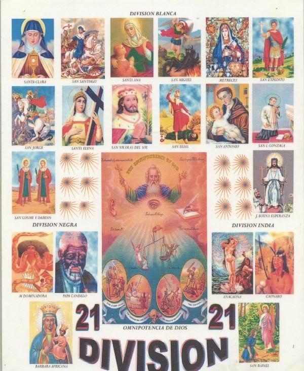 LAS 21 DIVISIONES — DOMINICAN VODOU | VODOU RELIGION