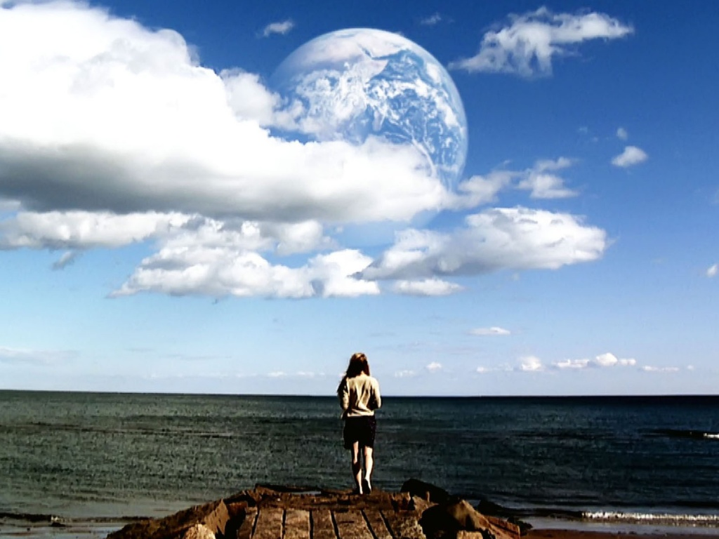 1024x768 Another Earth Wallpaper desktop PC and Mac wallpaper