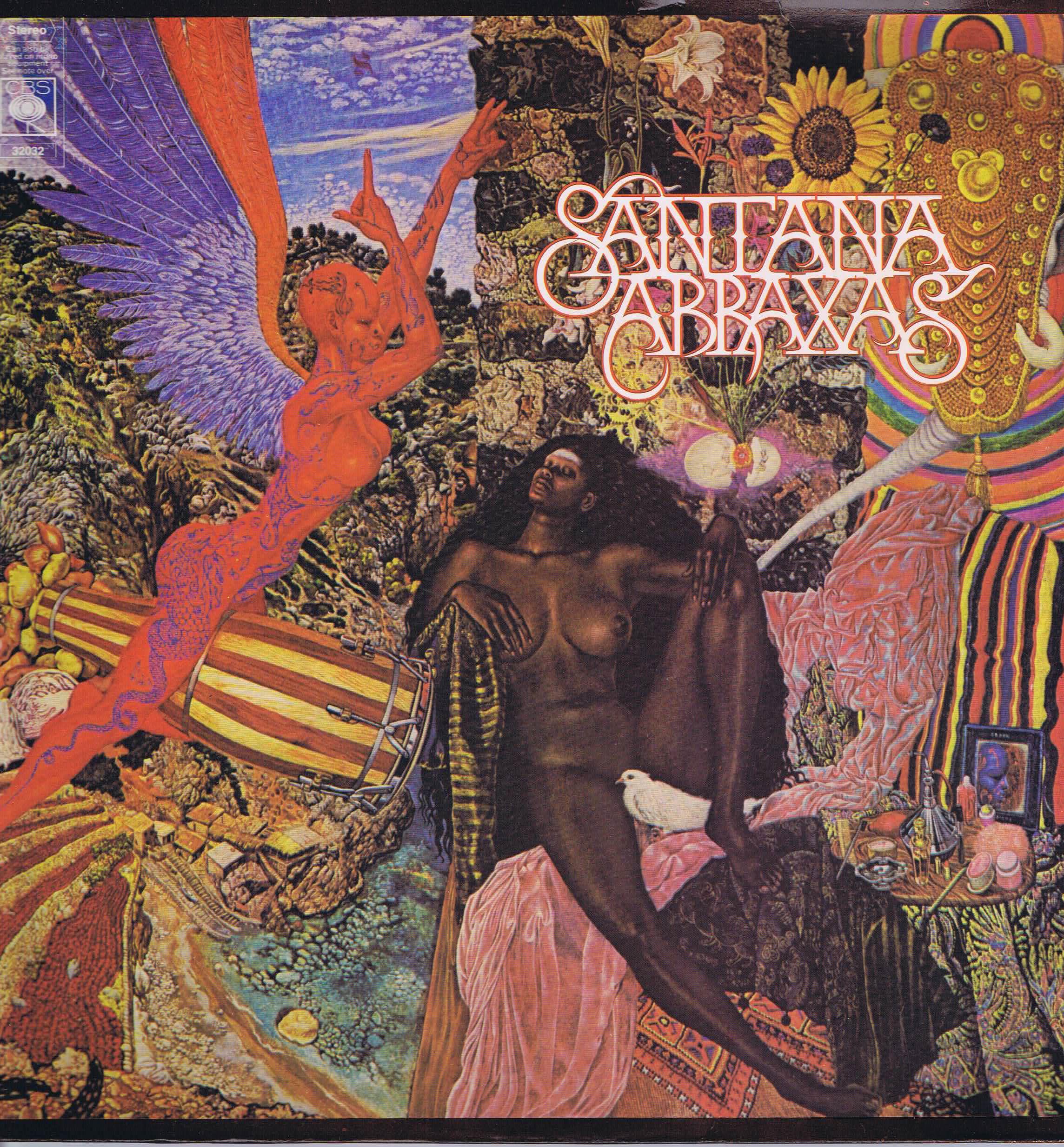 Santana – Abraxas – CBS 32032 - LP Vinyl Record • Wax