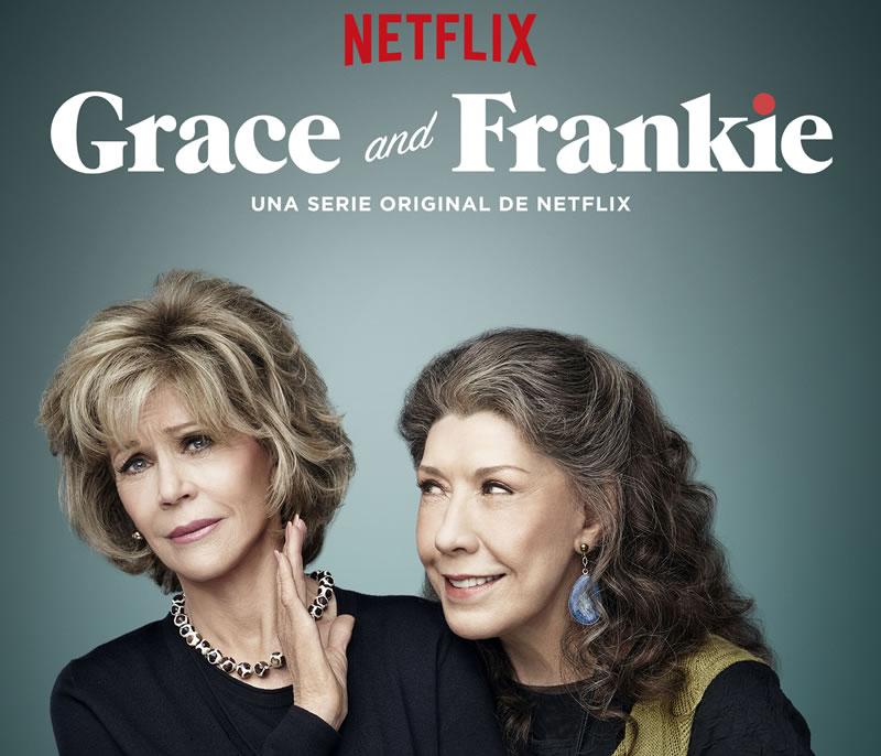 Trailer de Grace and Frankie, la serie de comedia de Netflix