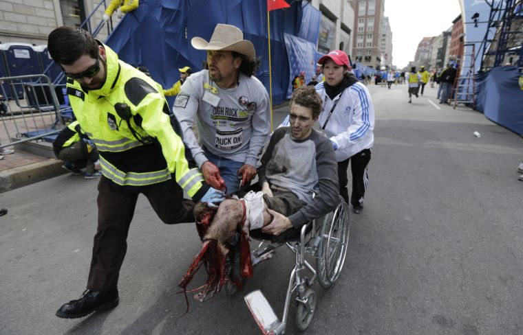 Review of Jeff Bauman (legless man) Boston Bombing ...