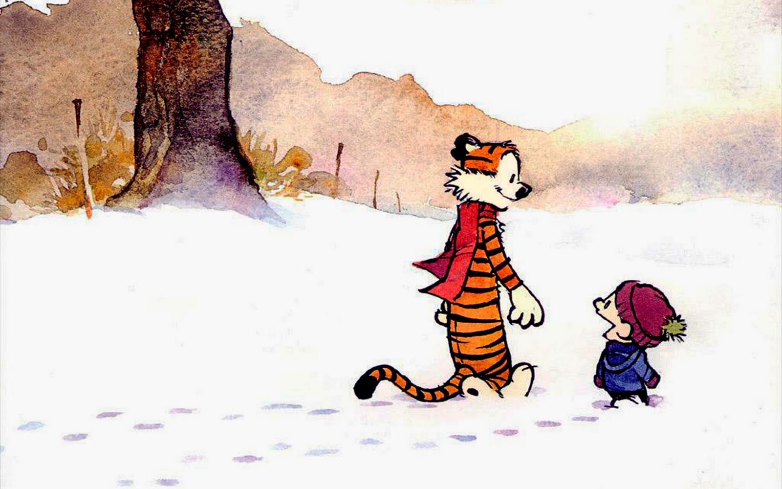Let It Snow, Let It Snow, Hey Let's Go! Calvin, Hobbes ...