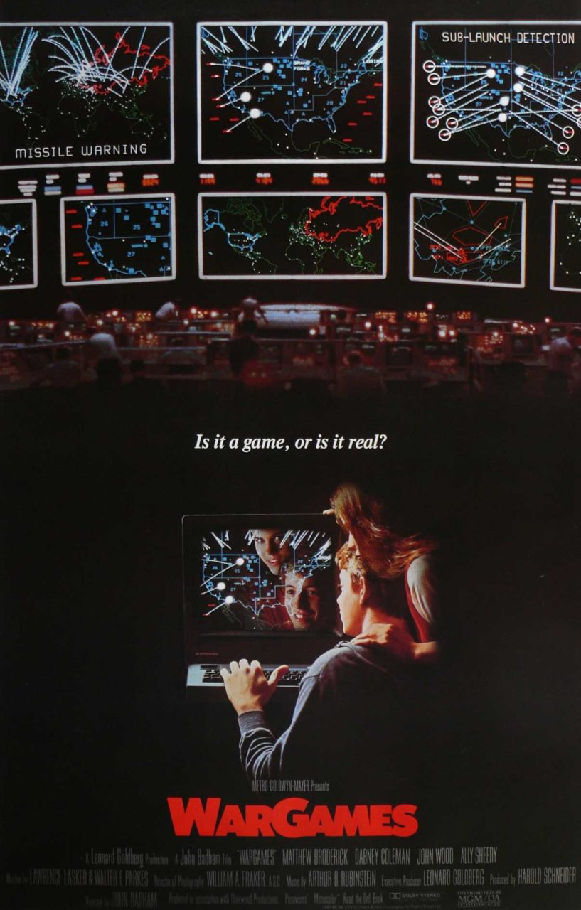 WarGames-Movie-Poster | Women Write About Comics