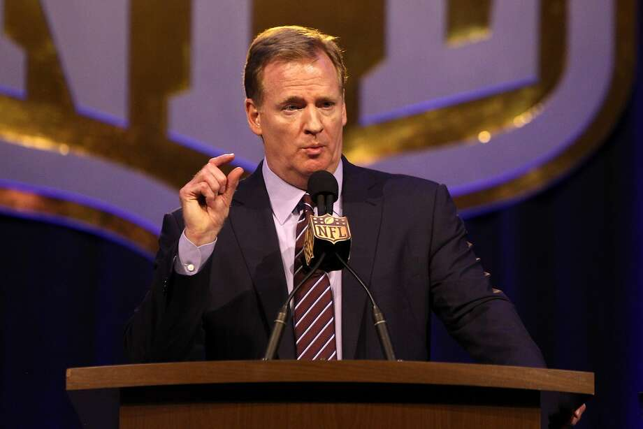 Internet mocks NFL commissioner Roger Goodell about couch 'risk' - Houston Chronicle