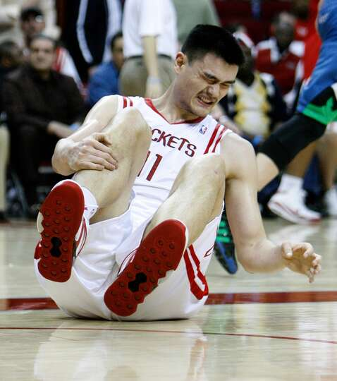 Yao Ming Foot injuries derailed Yao during the final six ...