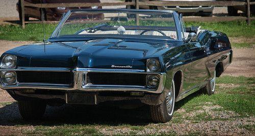 Buy used 1967 Pontiac Bonneville Convertible, 400/325 T400 ...