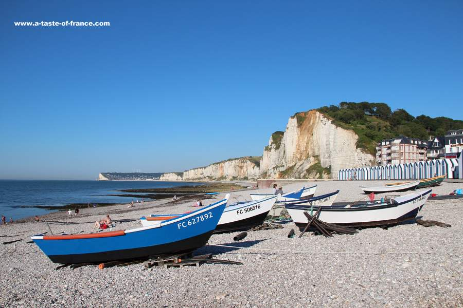 Yport,photos and guide to the fishing port in Normandy